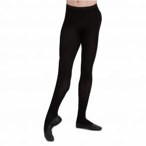 Men's Knit Footed Tight With Back Seam capezio