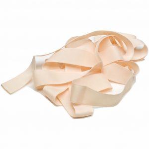 matt satin ballet pointe shoe ribbon