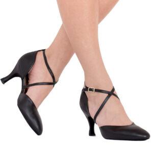 capezio_x-strap_pump_heel_black_