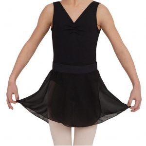 capezio tactel pull on skirt