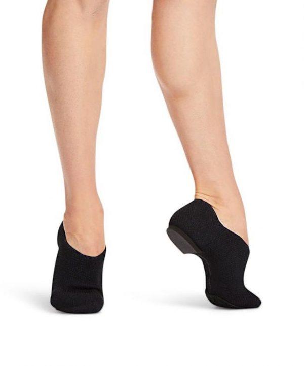 capezio_pure_knit_jazz_shoe_black_001