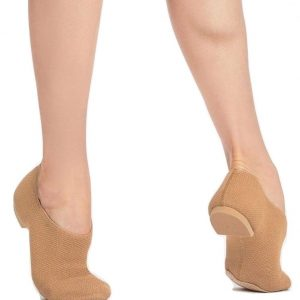 capezio pure knit natural jazz shoes