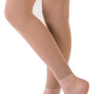 capezio essentials footless tights
