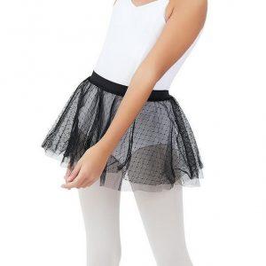 Double Layer Girls Skirt capezio