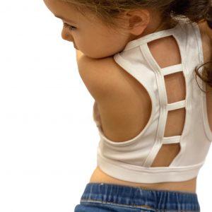 capezio ladder back bra top