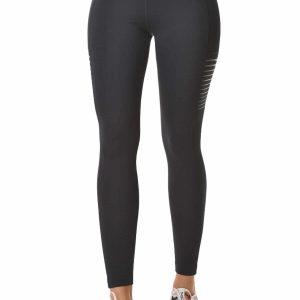 superstacy high waisted perforated leggings