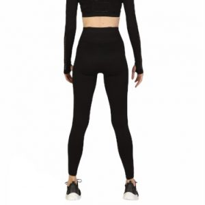 superstacy high waisted black seamless leggings