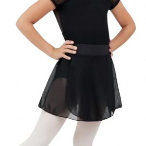 capezio tactel pull on skirt
