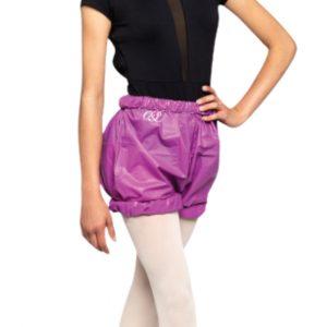 trash bag shorts russian pointe