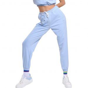 wanderlust classic sweat pants blue