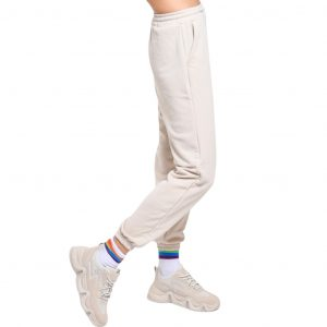 wanderlust classic sweat pants beige