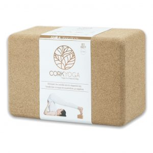 yoga cork brick