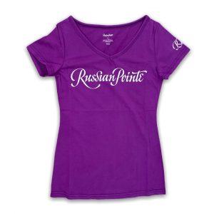 russian pointe logo tshirt
