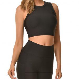 super stacy bra top black