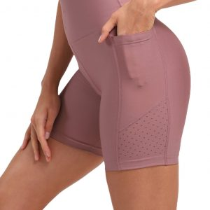 super stacy shorts dusty pink