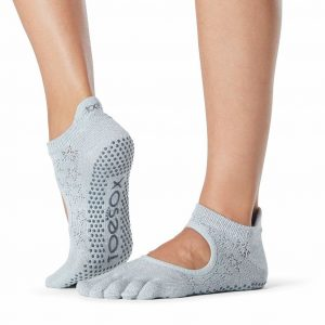 toesox yoga pilates socks bellarina
